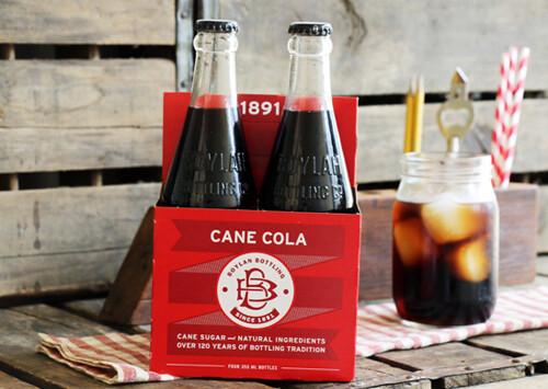 Boylan - Sugar Cane Cola 4/pk.  (355ml)