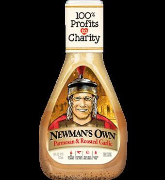 Newman's Own - Parmesan & Roasted Garlic  350ml