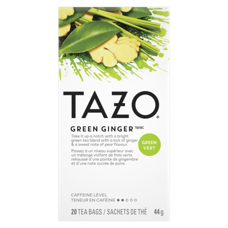 Tazo - Green Ginger (20bags)