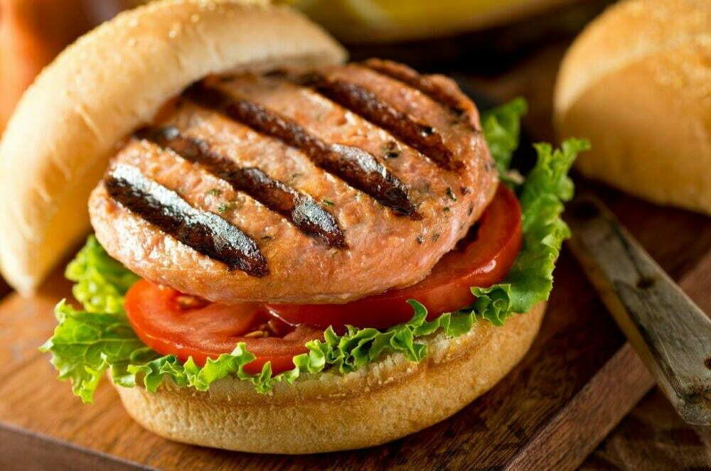 Dockside Fisheries - Salmon Sockeye Burgers 4x4oz