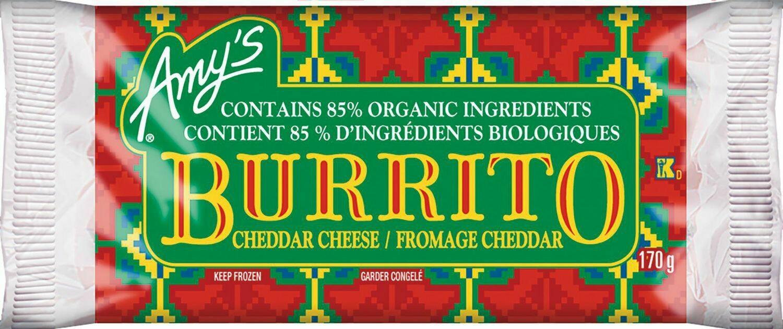 Amy's Cheddar Cheese Burritos