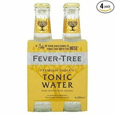 Fever Tree - Premium Indian Tonic Water 4pk