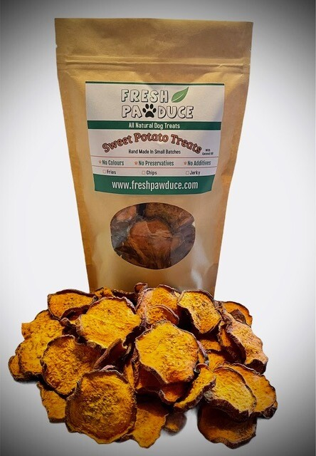 Fresh Pawduce - Sweet Potato Treats (chips)