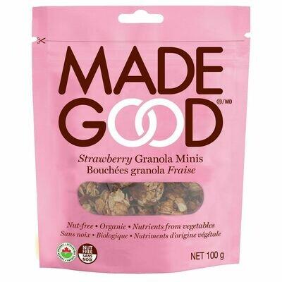 Made Good - Strawberry Granola Minis  100g