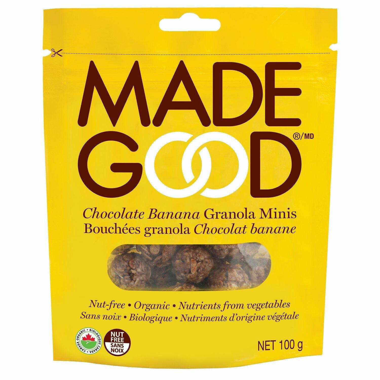 Made Good - Choc. Banana Granola Minis  100g