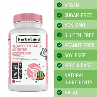 Herbaland - Vegan Collagen Booster (Adults-90)