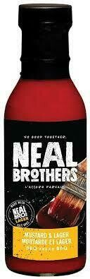 Neal Brothers - Mustard & Lager BBQ Sauce  350ml