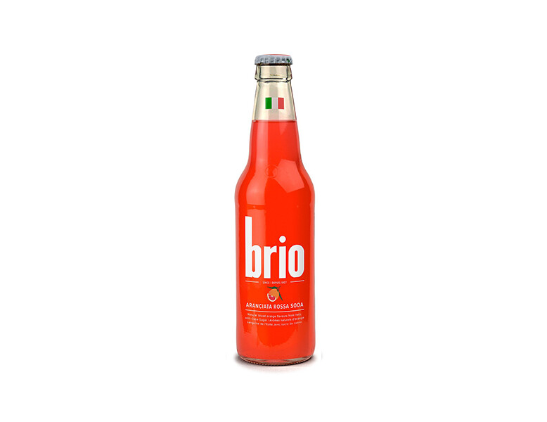 brio - Aranciata Rossa Glass (335ml)