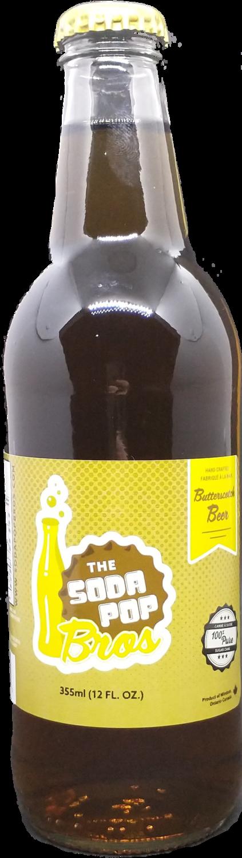 Soda Pop Bro's - Butterscotch Beer 355ml