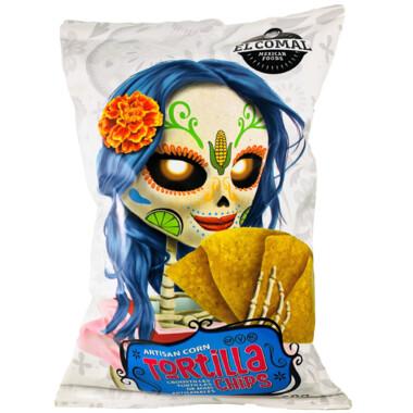 El Comal - Corn Tortilla Chips  350g