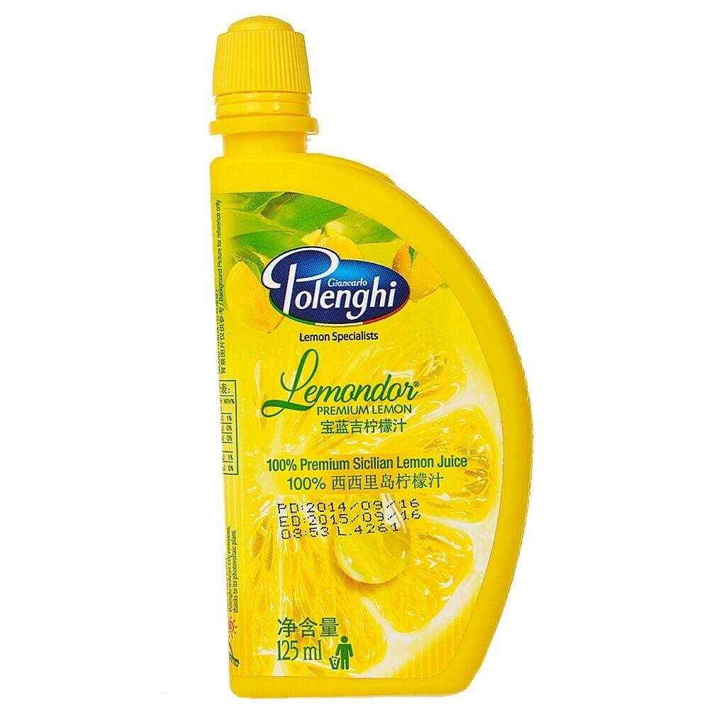 Lemon Juice from Sicily 125ml