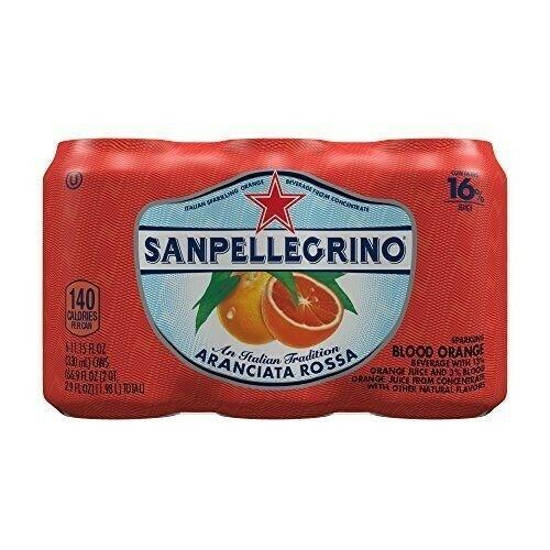 San Pellegrino - Blood Orange 6pk.