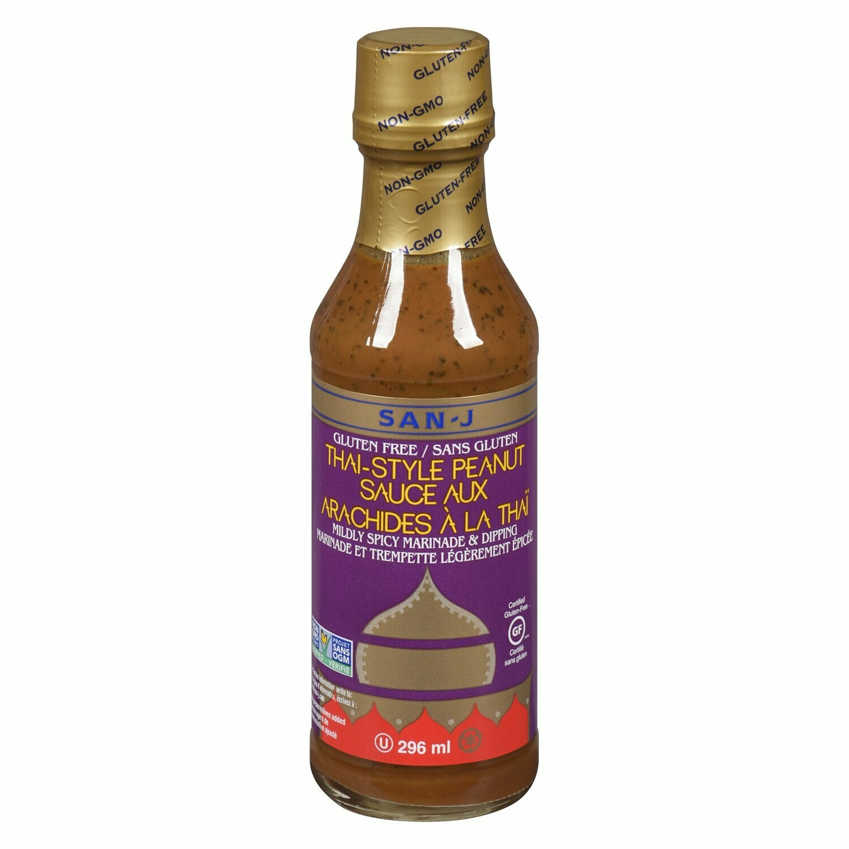 San-J  Thai Style Peanut Sauce  296ml