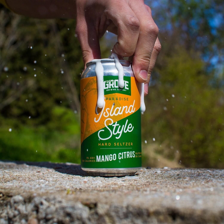 Grove - Mango Lime Seltzer