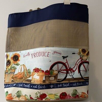 Farmer's Market Produce Re-Usable Bags