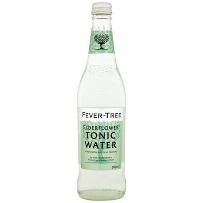 Fever Tree - 500ml Elderflower Tonic Water