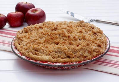 Frozen Harrow Pie - GF Apple Crisp