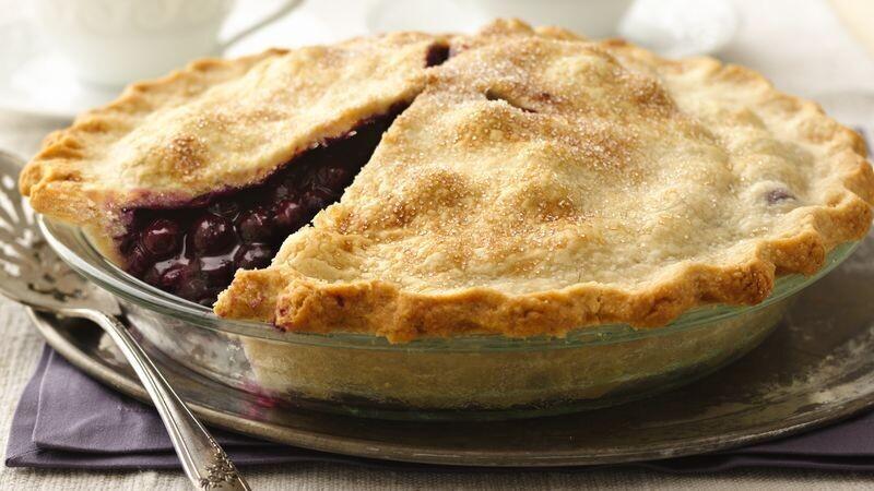 Frozen Harrow Pie - Blueberry