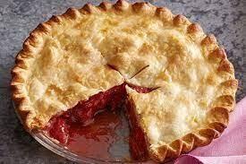 Frozen Harrow Pie - Rhubarb