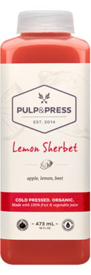 Pulp & Press - Lemon Sherbert  473ml
