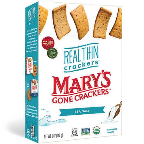 Mary's Org.Crackers - Sea Salt  (142g)