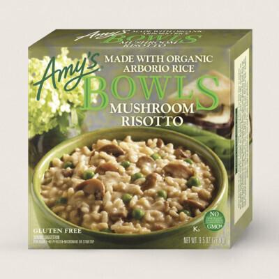 Amy's Mushroom Risotto Bowls
