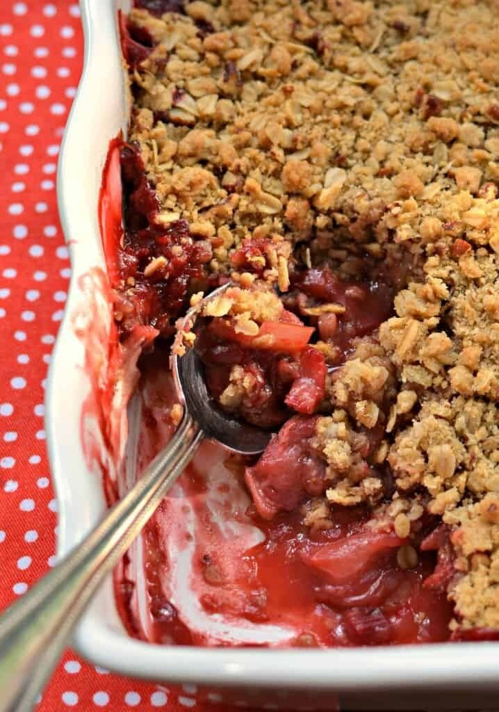 Harrow Pies - Strawberry Rhubarb Crisp