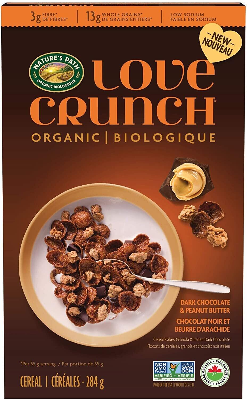 Love Crunch - 384g Cereal Dark Choc. & Peanut Butter