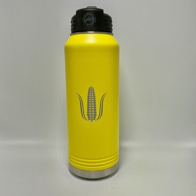 32oz Water Bottle (Yellow)