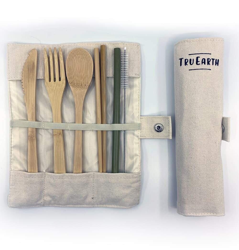 Tru Earth - Bamboo Cutlery Set