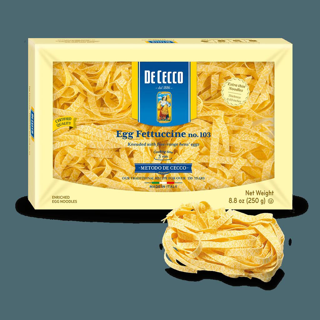 DeCecco - Fettuccine 250g (egg pasta)