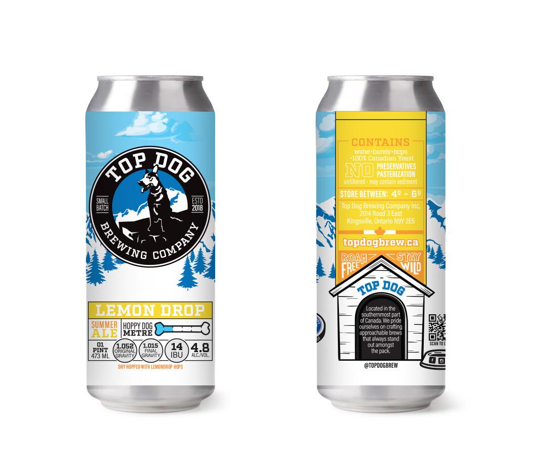Top Dog - Lemon Drop (Summer Ale)