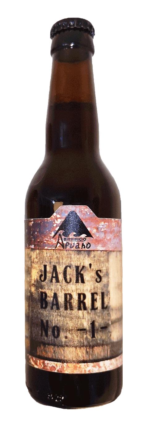 JACK'S BARREL #1-   Barrel Aged  - 33cl
