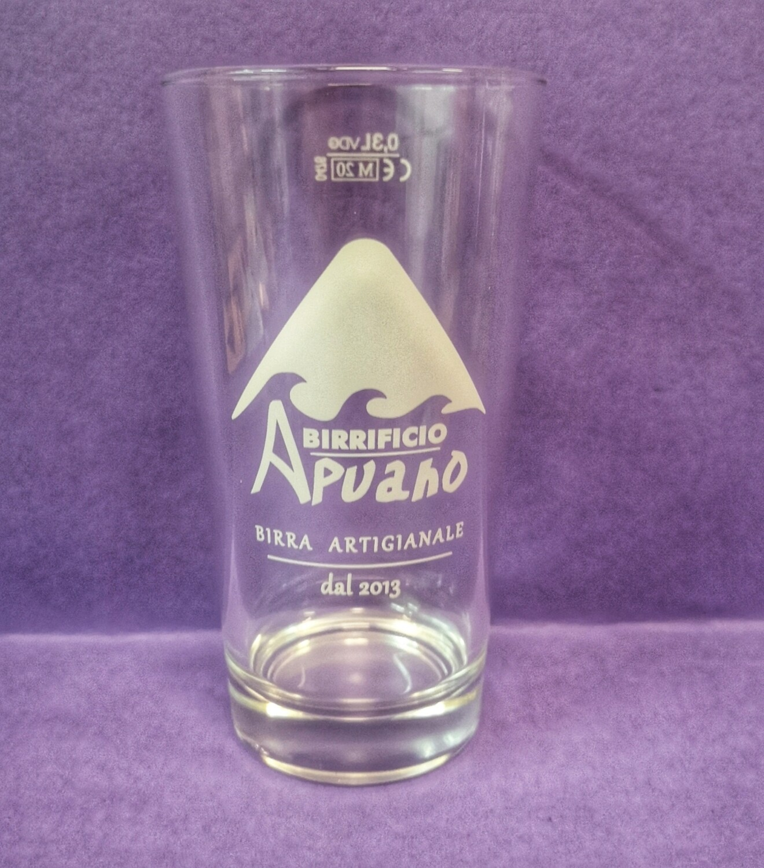 Bicchiere con logo