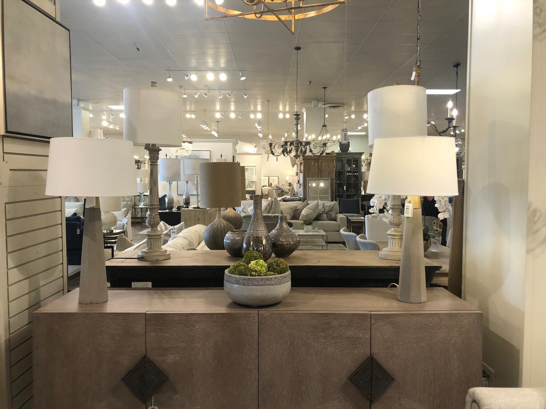 2-L100 BE18 Concrete Table Lamp