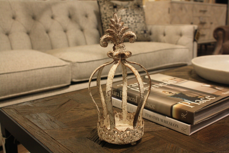 Metal Crown Candle