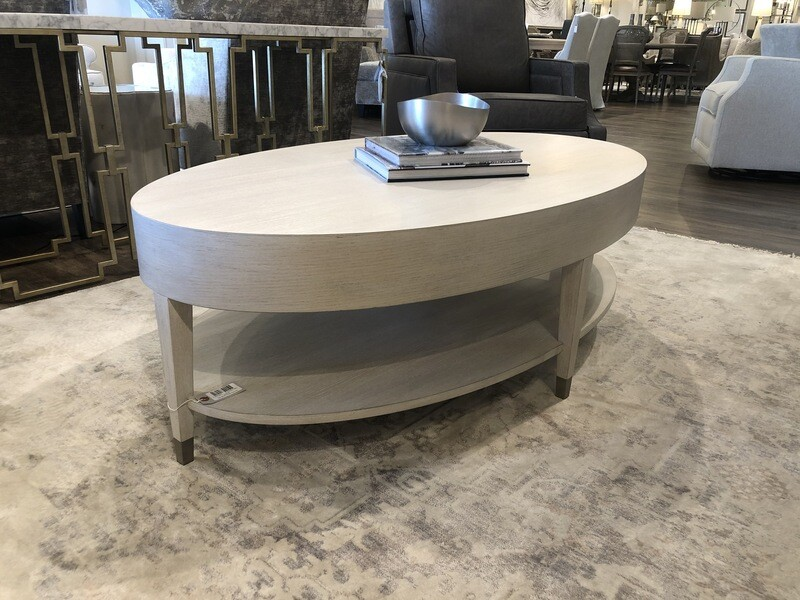 2-LR26 EA19 Oval Cocktail Table