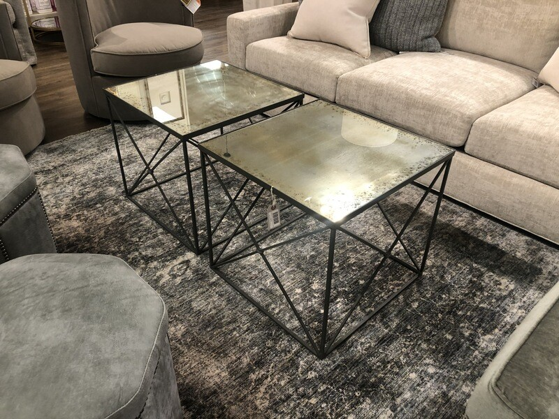 Zinc Side Tables