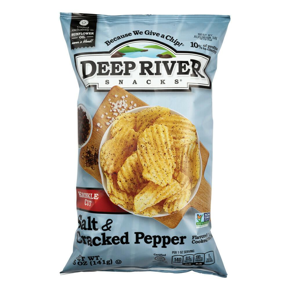 Deep River Salt & Pepper Chips