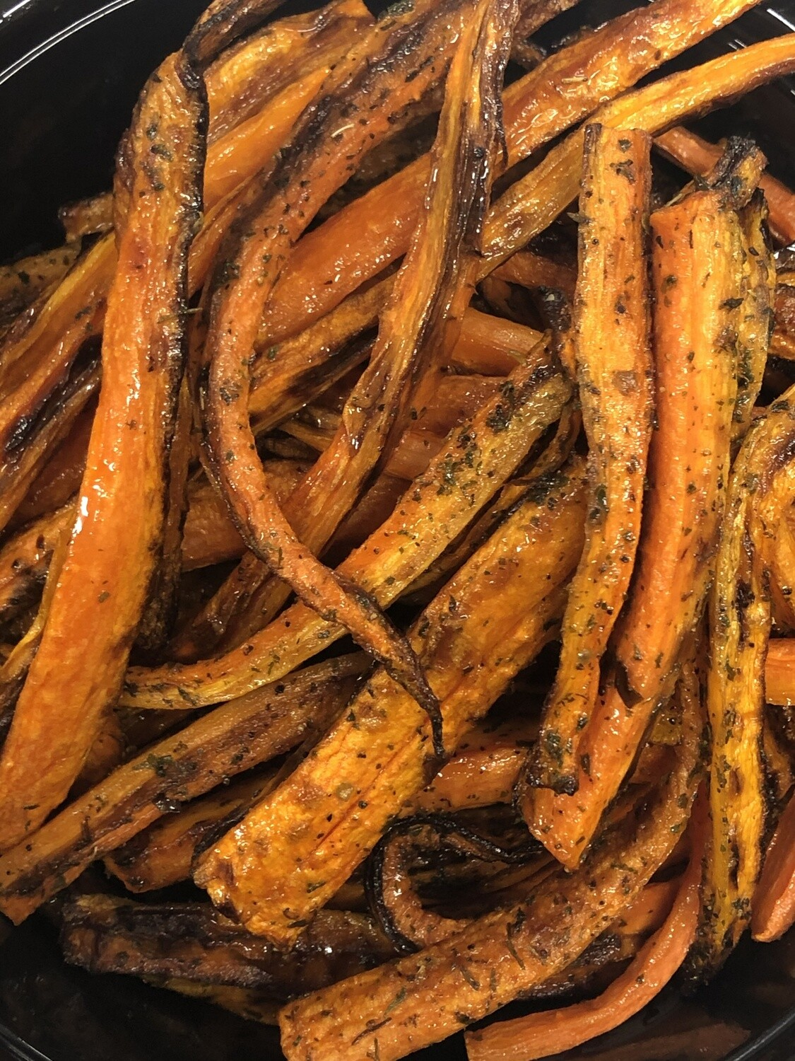 Herb Roasted Carrots Family Side - 16oz roasted carrots tossed with herbs and seasoned
