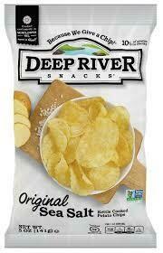 Deep River Sea Salt Chips