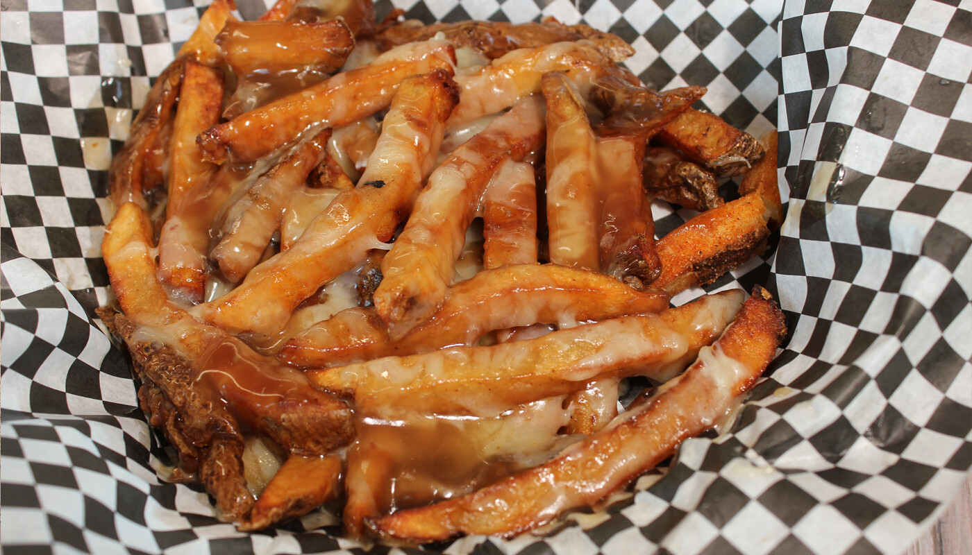 Poutine - choice of hand cut fries with gravy and cheese curds