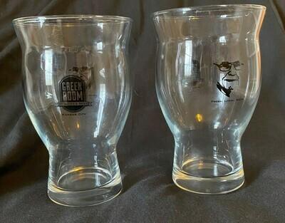Green Room Beer Glasses