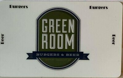 Green Room Gift Certificates