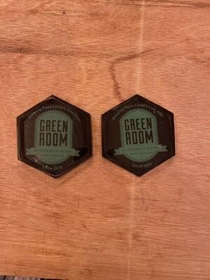 Coasters Hexagon - 2 Pack