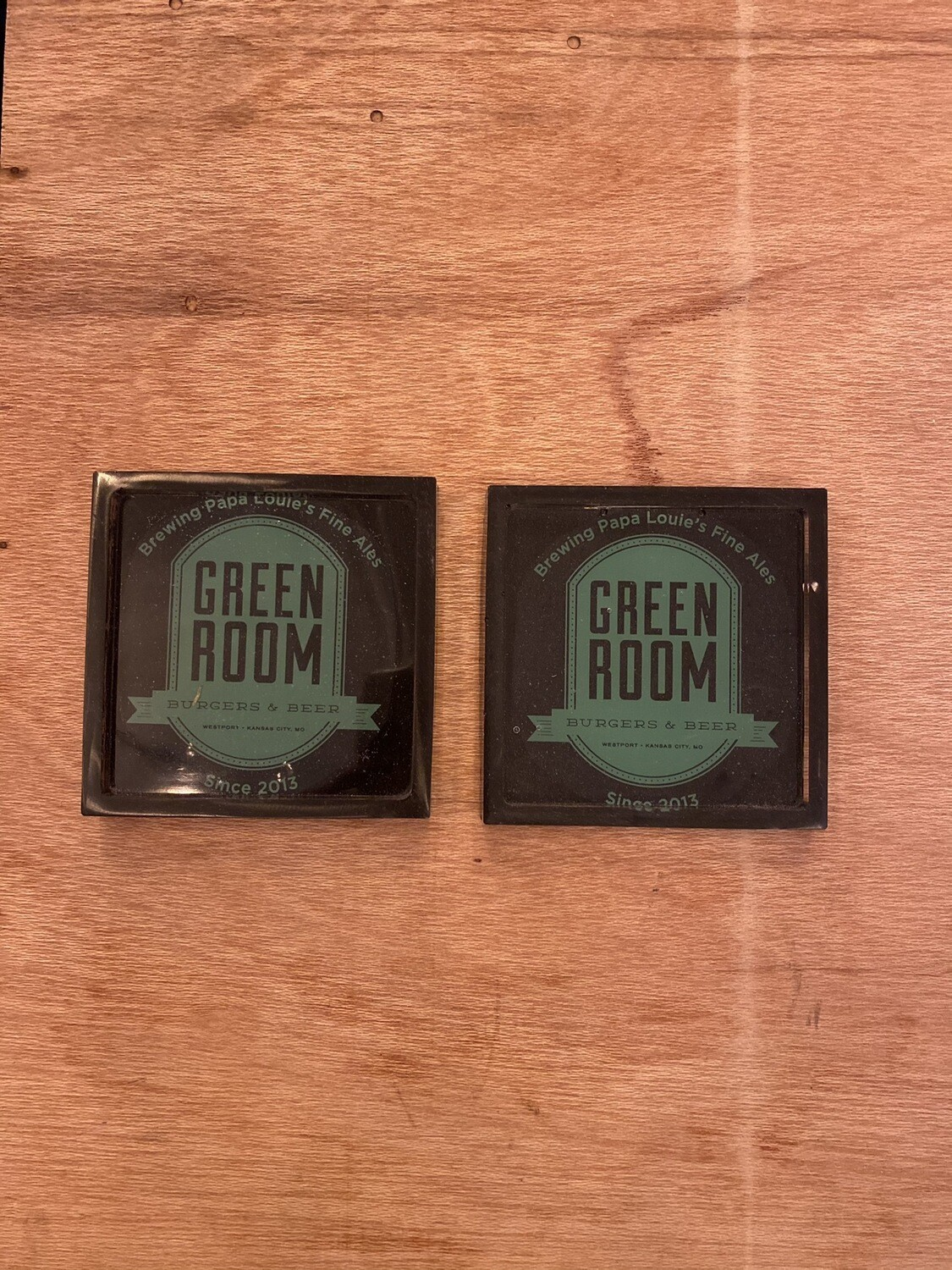 Coasters Square - 2 Pack