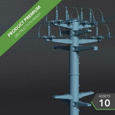 Electric Poles 001