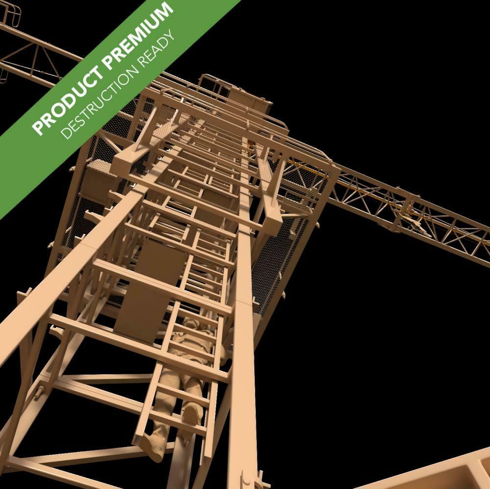 Construction Crane 001