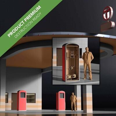 Petrol Station 001