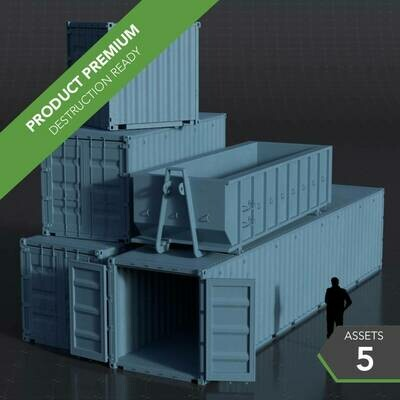 Shipping Containers 001